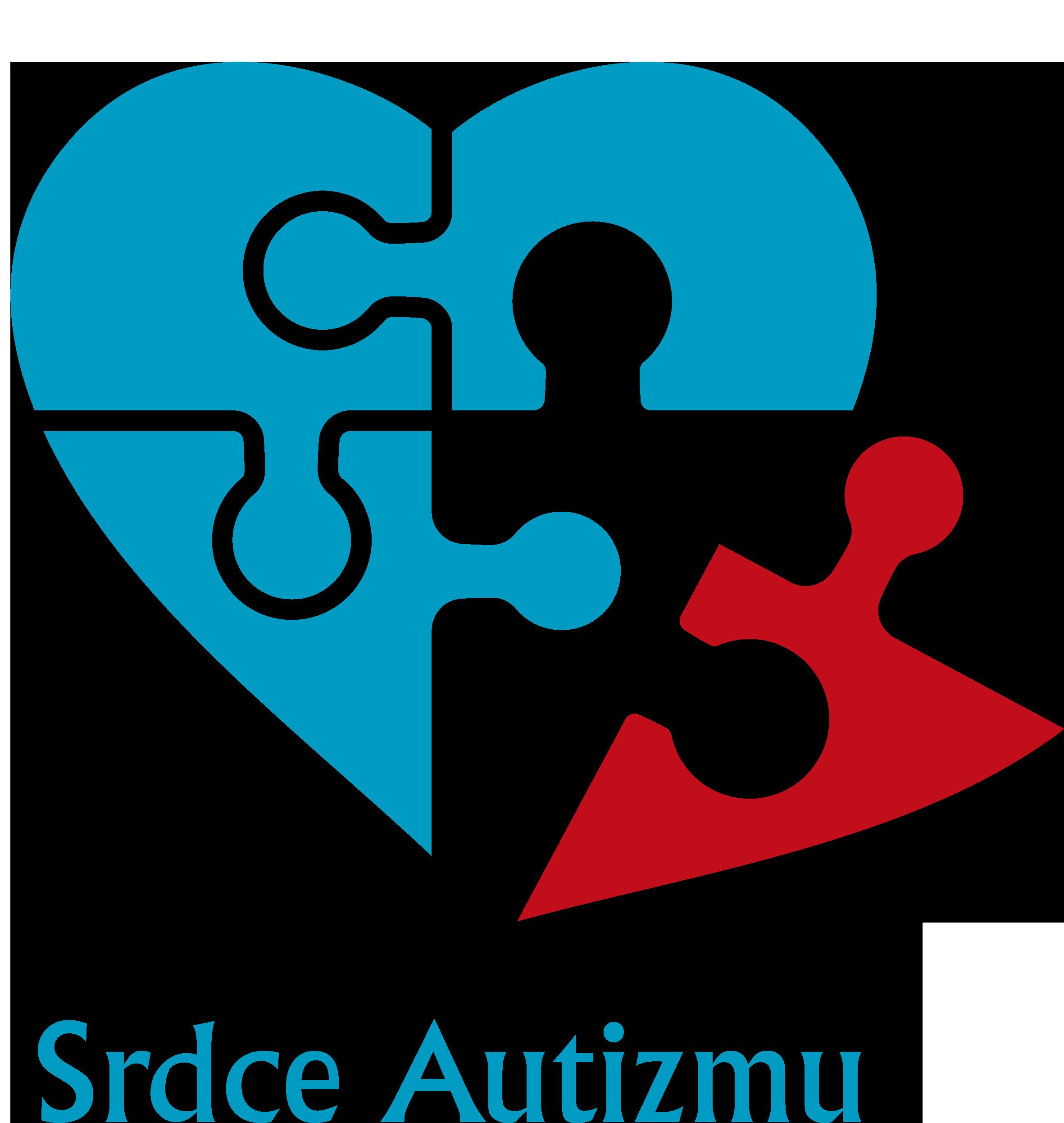 Srdce autizmu – občianske združenie Logo